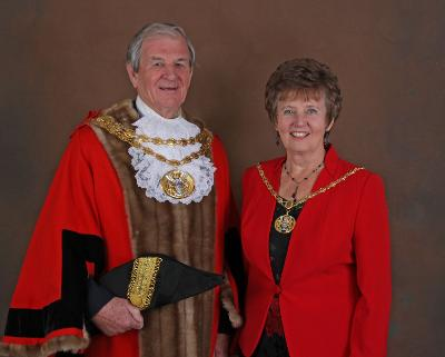 Photograph of the late Cllr Colin Clark who died on 4 March 2021