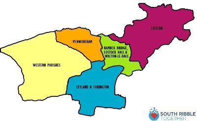 Local Community Hub map